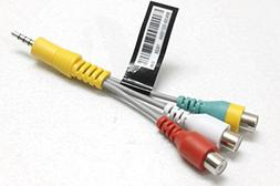 Gender Cable DC To RCA Cable AV Adapter Fit For UN55KU7000F