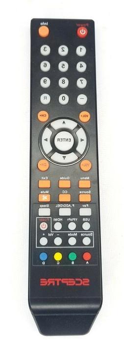 GENUINE SCEPTRE H24 LED LCD TV REMOTE CONTROL