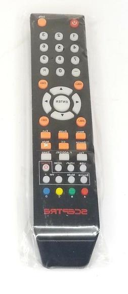 GENUINE SCEPTRE LED LCD TV  UHTV58FE W55 REMOTE CONTROL