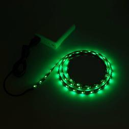 Green LED Bias Lighting For TV LCD HDTV Monitors USB LED Str
