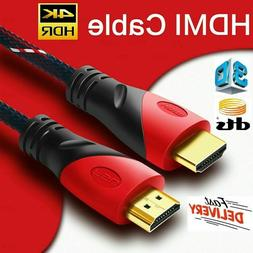 PREMIUM HDMI CABLE 50FT 1.4 1080P BLURAY 3D HDTV DVD PS3 XBO