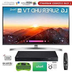 LG 4K HDR Smart LED AI SUPER UHD TV with ThinQ 2018 Model wi