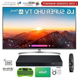 "LG 65"" Class 4K HDR Smart AI Super UHD TV w/ThinQ 2018 Model"