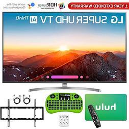 LG 4K HDR Smart LED AI Super UHD TV with ThinQ  + Free Hulu