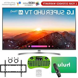 LG 4K HDR Smart LED AI Super UHD TV with ThinQ  + Free Hulu