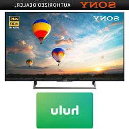 "Sony 55"" 4K HDR UHD Smart LED TV  w/ Hulu $25 Gift Card"