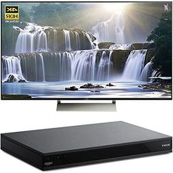 Sony 55-inch 4K HDR Ultra HD Smart LED TV 2017 Model  with S