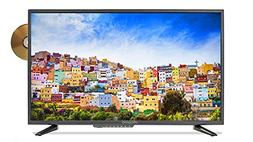 oCosmo 32 Inch 720p LED HDTV With Build in DVD Player, TV-DV