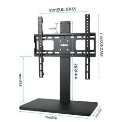 Heavy Duty TV Stand with Mount 58CM Long Base Holder Height