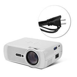 fosa Home Cinema Video Projector, 1080p WIFI Bluetooth Andro