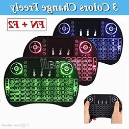 LCBOX i8+ Mini Wireless Touch Keyboard Handheld Remote, Tou