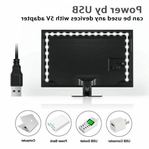 1-4Pcs USB 5050 for Computer Background Light