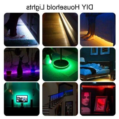 1-4Pcs USB 5050 LED Strip for TV Computer Background Light