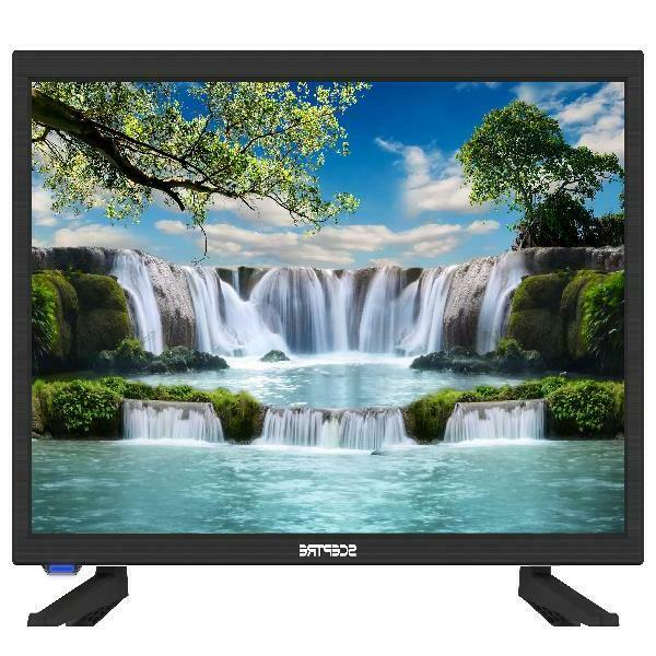 "NEW! Sceptre E195BD-SR 19"" Class HD LED TV Built-in DVD Play"