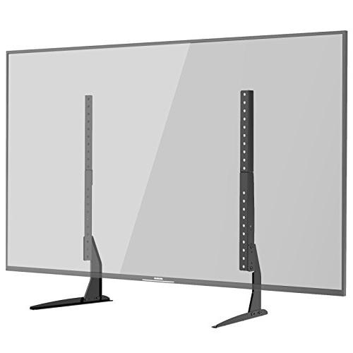 1homefurnit universal tabletop tv stand