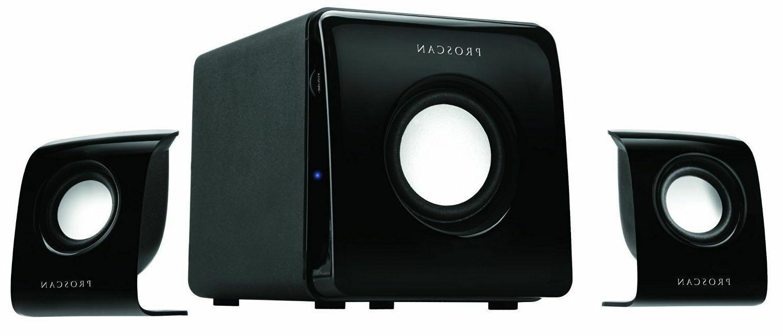 2 1 home computer speaker system model