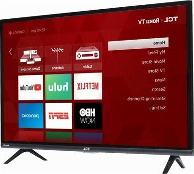 """TCL 32"""" 1080p HD TV w/ & inputs"""