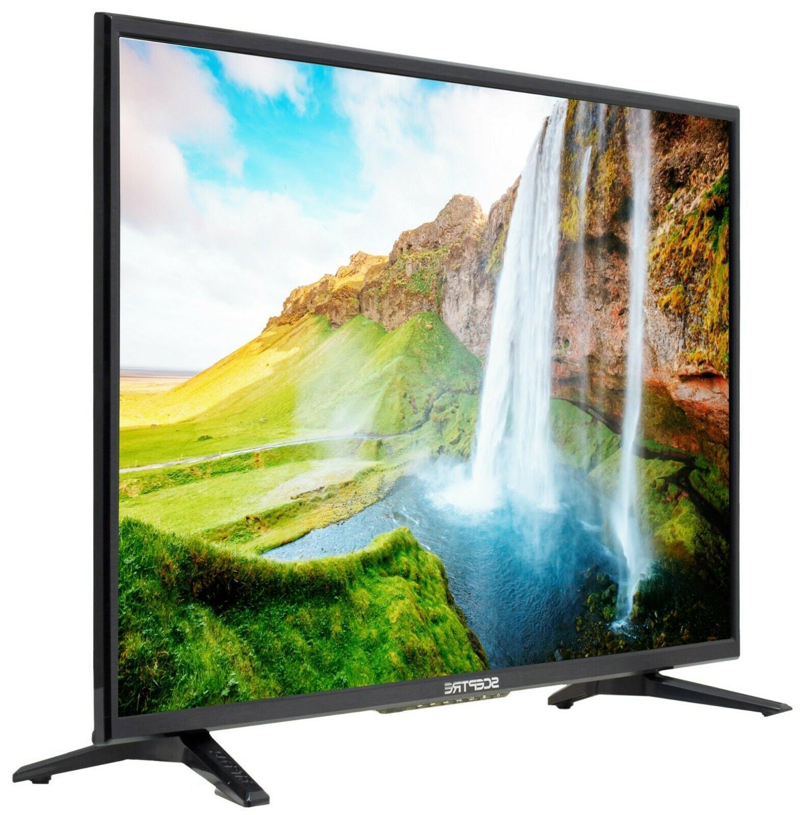 """32"""" LED TV Flat Wall Mountable 720p"""
