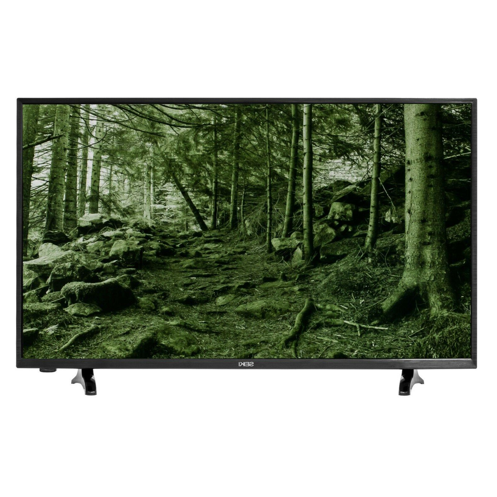 "Seiki 40"" Full HD LED-Backlit TV w/ 1080P,  HDMI, VGA & USB"