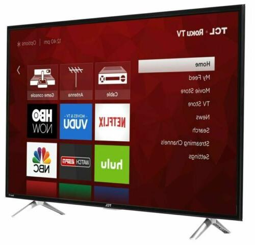TCL HD Roku TV with 3 HDMI/1 USB Built-in WiFi