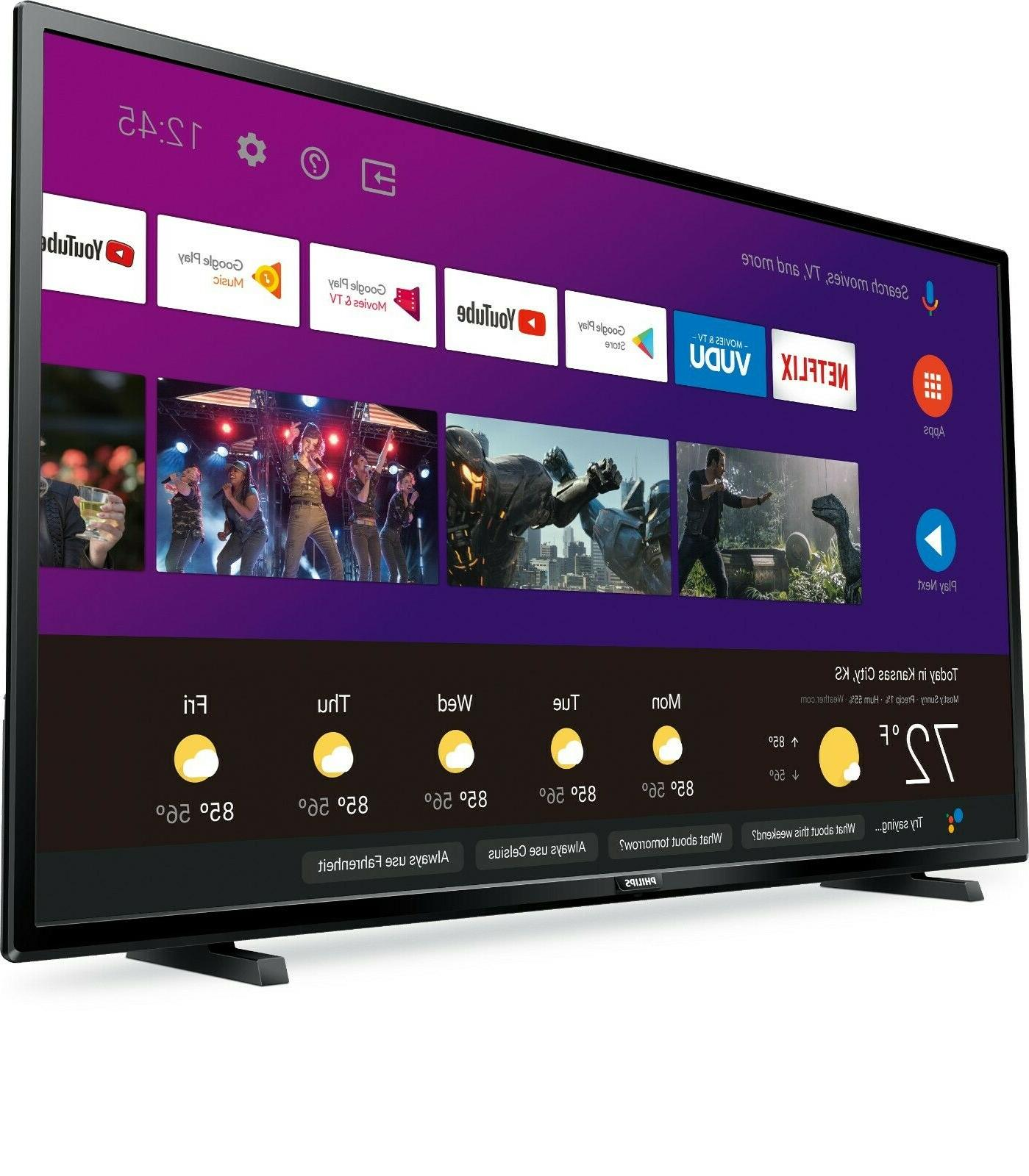 """Philips 43"""" Class Ultra Smart LED with Google Assistant"""