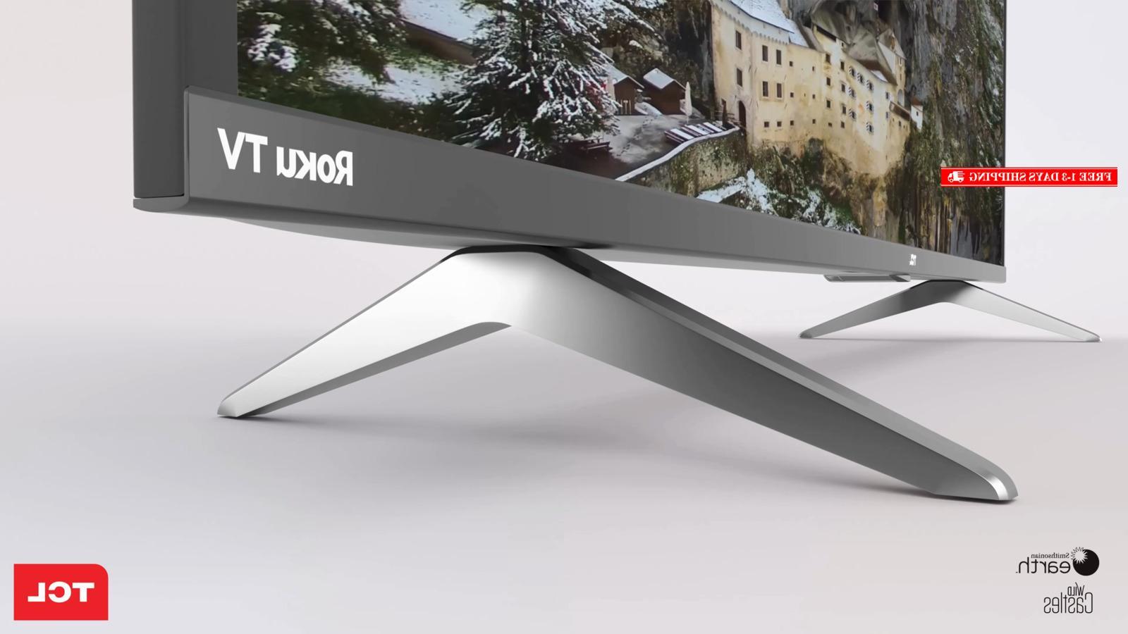 TCL 43S517 4K Ultra HD Roku LED