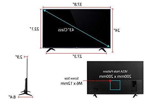 TCL 43S517 Ultra HD LED TV