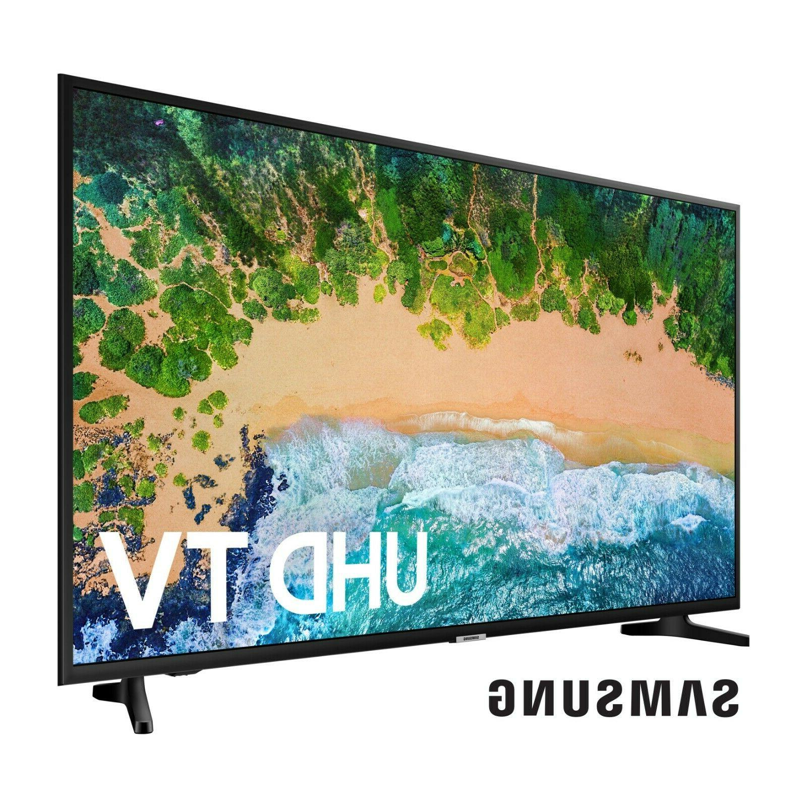 SAMSUNG Class UHD 2160p TV with HDR New Television.