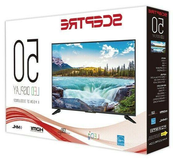 """Sceptre 50"""" Class LED TV"""