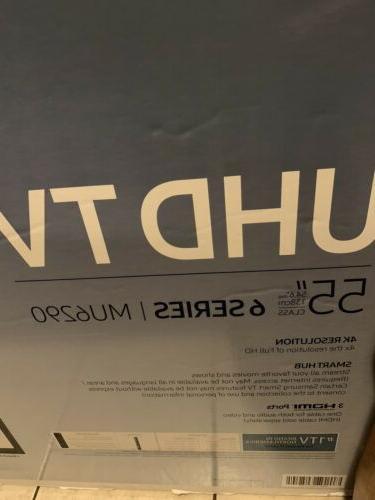 "SAMSUNG 55"" Ultra Smart LED TV Brand New"