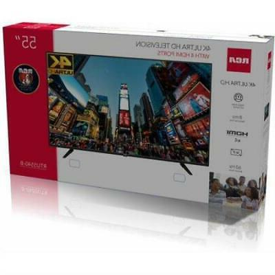 "RCA 55"" Ultra LED TV Average of5star"