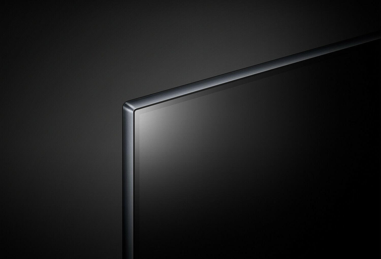 Black HDR LED TV