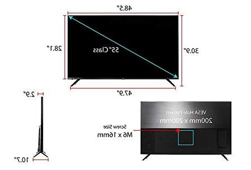 TCL 55R617 Ultra HD Smart LED