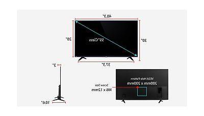 TCL 55S517 4K Ultra HD Smart LED