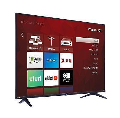 TCL 55S517 55-Inch Ultra HD Smart LED