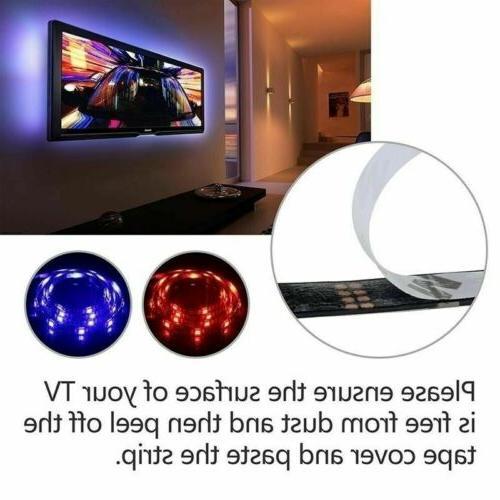 4 x 50CM LED 5050 RGB LED Light Remote Kit