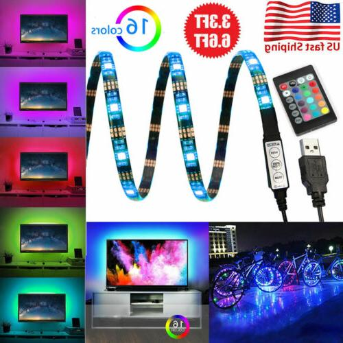 5V USB LED Lights TV 5050 Colour with