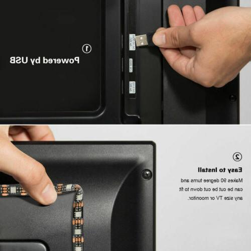 5V USB LED Lights 5050 Colour Changing with