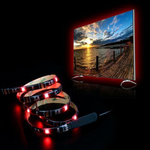 5V USB LED Lights TV Light 5050 Colour with
