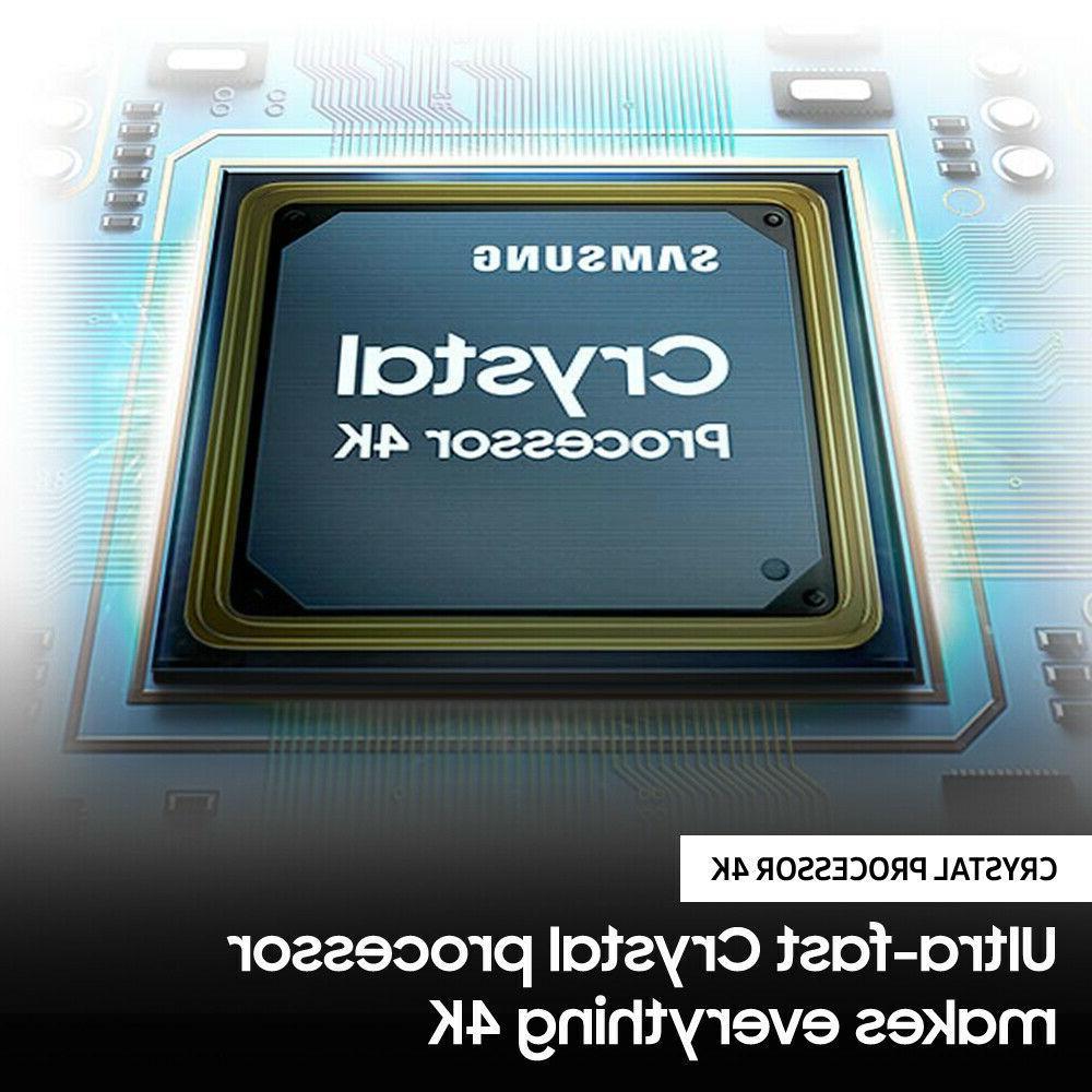 """Samsung 65"""" 4K LED Smart TV 7 Rate HDR Crystal"""