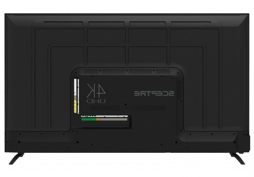 Sceptre UHD TV HDR U650CV-U