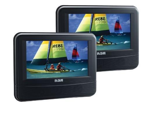 7 dual portable dvd player