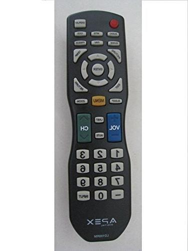 Brand New APEX LD100RM Remote for APEX JE3708 LD3288 LD4688