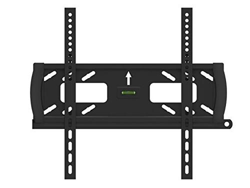 Flat/Fixed Wall Mount Bracket with Anti-Theft Feature for Vu