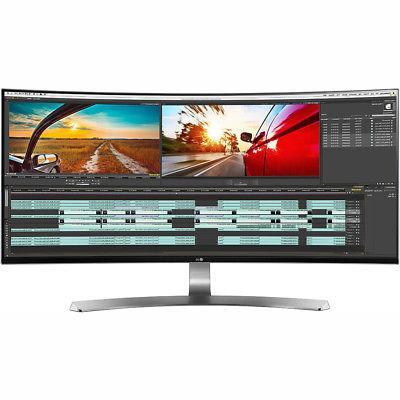 "LG 34"" UltraWide Curved LED Monitor 3440 x 1440 21:9 34UC98"
