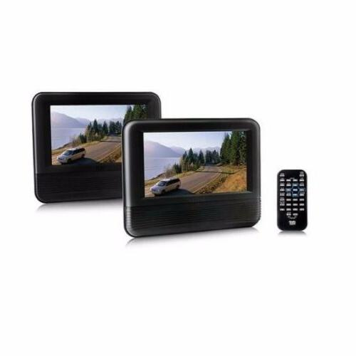 New 7.0-inch LCD DualScreen Mobile DVD Player