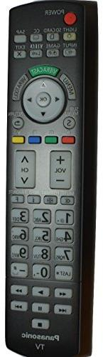 Panasonic Remote Control for TC-50PX34, TC-P42S30, TC-P42X3,