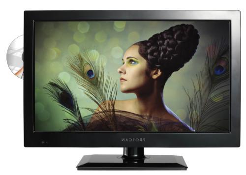 Proscan PLEDV1945A-B 19-Inch 720p 60Hz LED TV-DVD Combo
