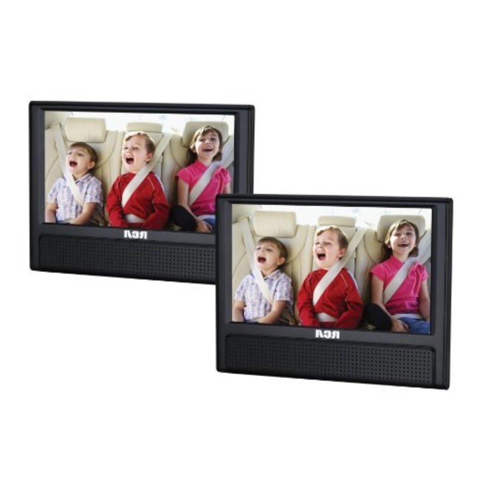 """RCA 9"""" Dual Screen Mobile Car DVD Player Portable AV CD Vide"""