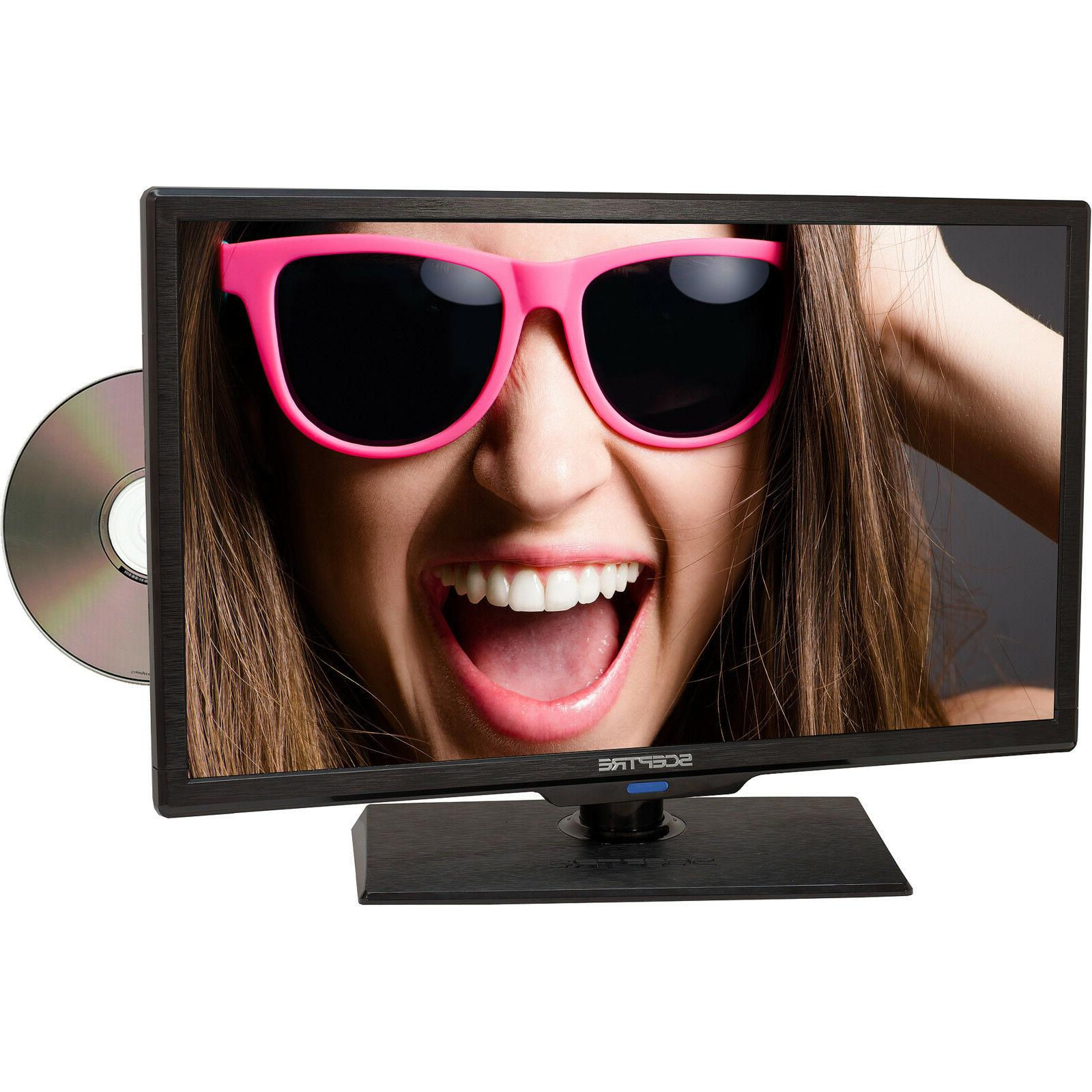 "Sceptre 19"" Class - HD, LED TV - 720p, 60Hz with Built-in DV"